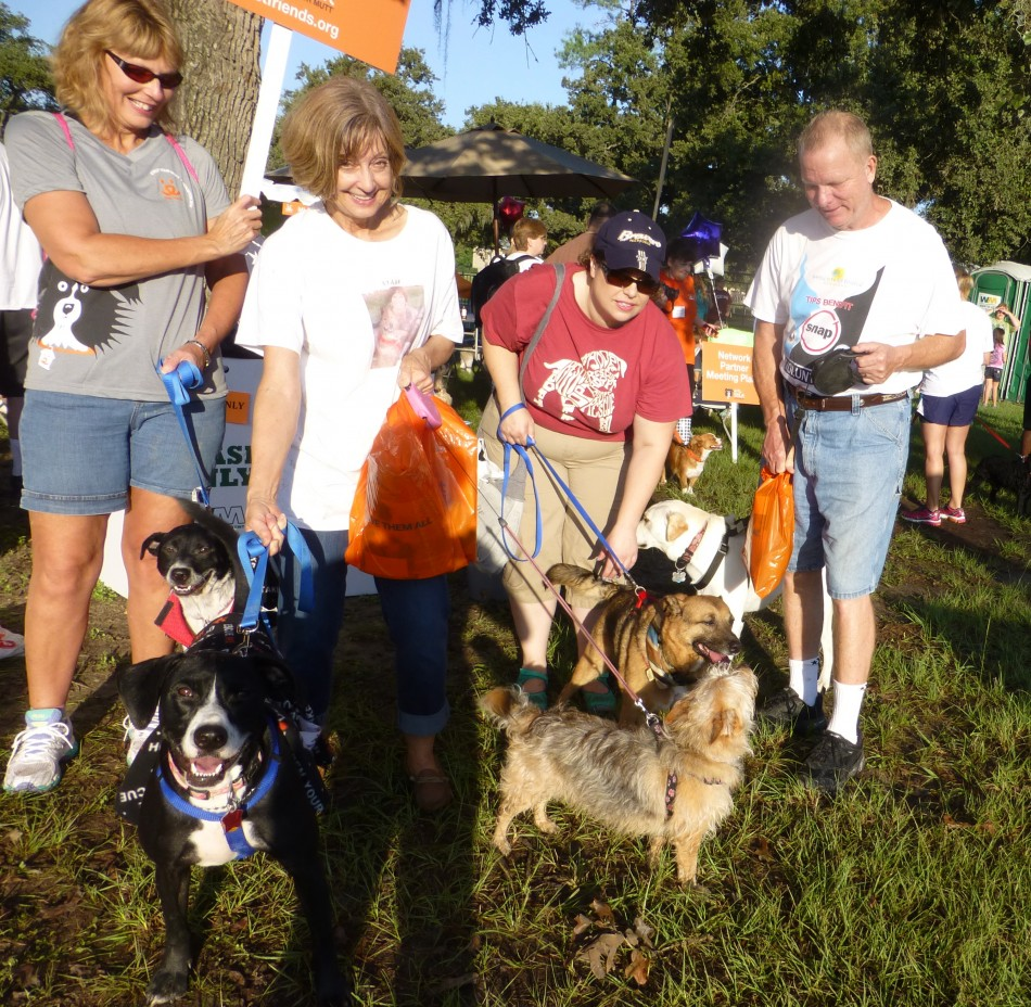 Strut the Mutt walk-Hope you can be there next year. We all had lots of fun, even the dogs had fun.